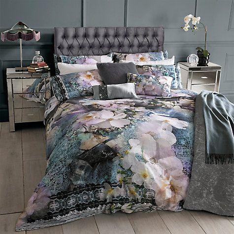 Buy Ted Baker Tile Floral Bedding Online at johnlewis.com