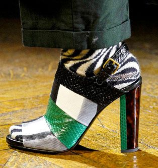 Dries Van Noten - Fall 2011 - Shoe Collection | Nina Garcia
