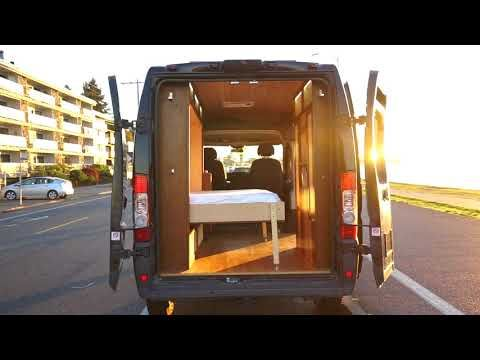 Rydawell Woodworks Is A Design Build Woodworking Conversion Company Located In Seattle Washington U S A Our Van Camper Renovation Van Conversion Interior