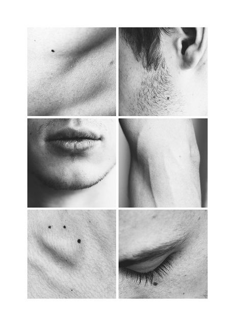 intimate close-ups, almost studies. love these