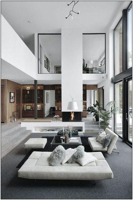25 Best Living Room Decoration For Modern House 1 Modern Houses Interior Modern House Design House Interior