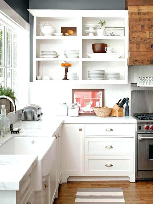 Open Face Kitchen Shelves Google Search Upper Kitchen Cabinets