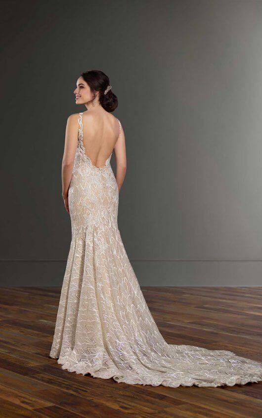 Art Deco Wedding Dress With Beading In 2019 Art Deco