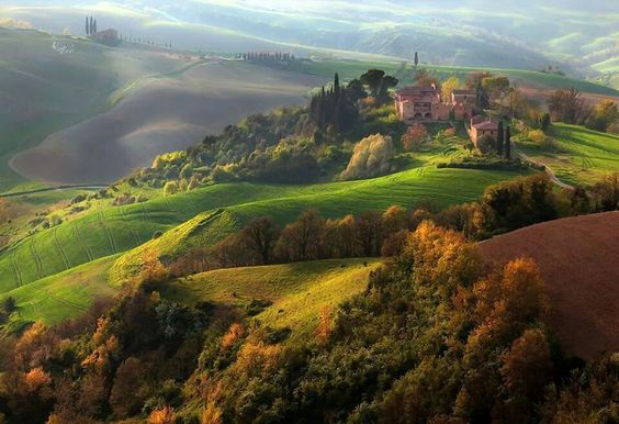 Lucca, Italy, from VR-Zone's Facebook Page.  So beautiful that it looks more like a painting!!