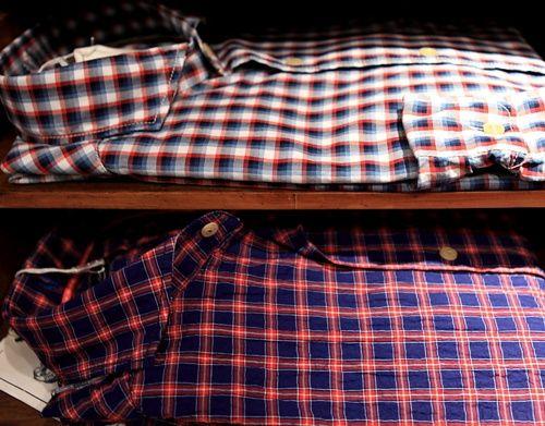 plaids camisas / Camisas de cuadros