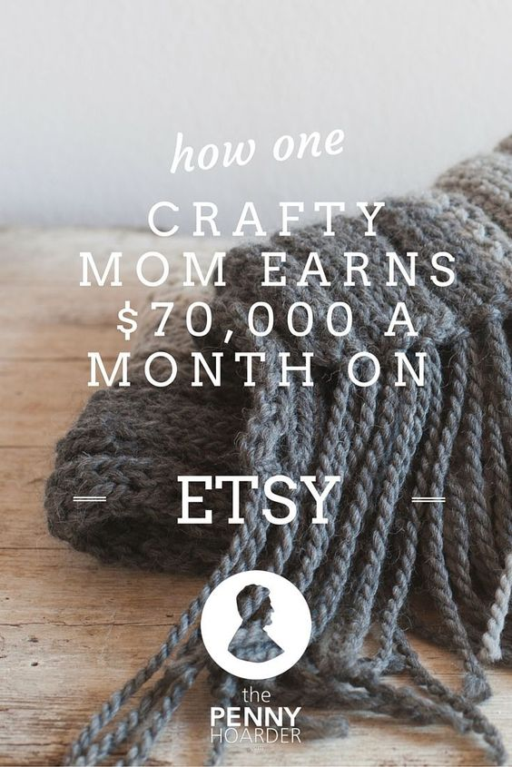 Alicia Shaffer, a California mother of three, has an Etsy store. Nothing unusual about that, right? Not until you learn that she makes up to $70,000 per month! - The Penny Hoarder http://www.thepennyhoarder.com/making-money-on-etsy-three-bird-nest/ make money from home, ways to make money at home