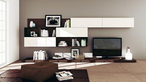 wohnzimmerwand modern einrichtungsideen wohnzimmer modern ... - Einrichtungsideen Wohnzimmer Modern
