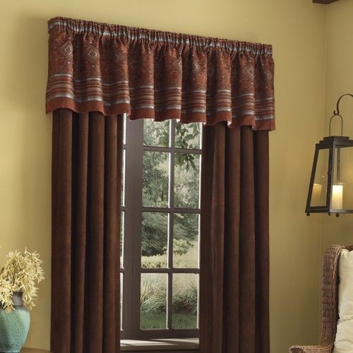 veratex pueblo valance and curtains drapes with love home decor