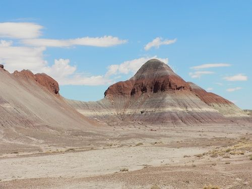 The Painted Desert Teepees | Prowling the Painted Desert