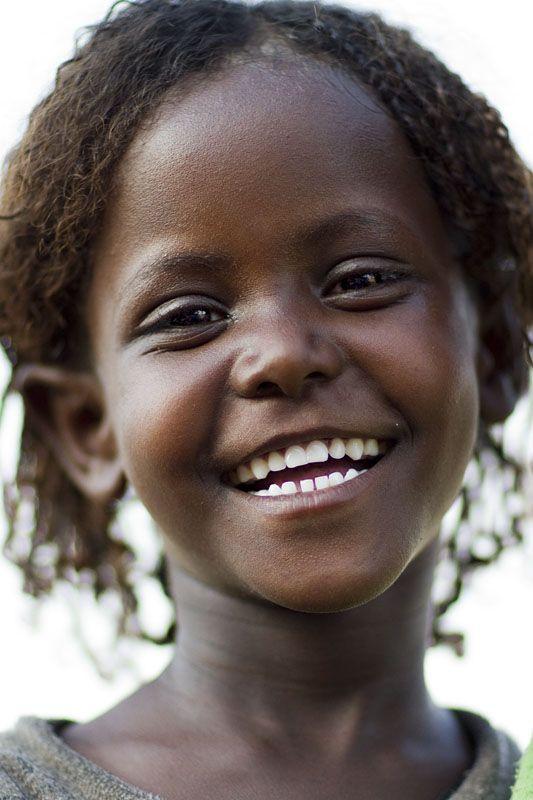 Joli sourire d'Ethiopie
