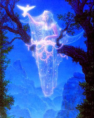 """Lightworkers are those who volunteered, before birth, to help the planet and its population heal from the effects of fear. Each lightworker is here for a sacred purpose."""" Doreen Virute❤️☀️Gilbert Williams Visionary Art"""