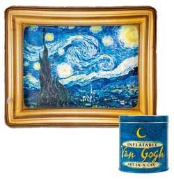 I want one... INFLATABLE FRAMED VAN GOGH