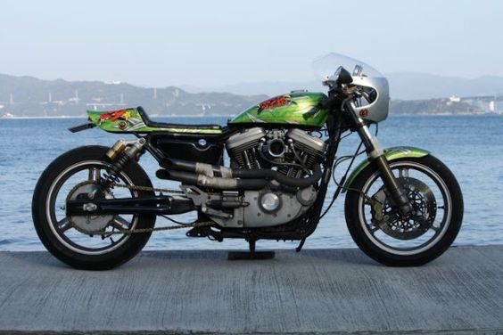 ϟ Hell Kustom ϟ: Harley Davidson XL1200S By Good Speed