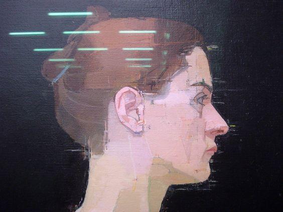 Euan Uglow Self Portraits Pinterest