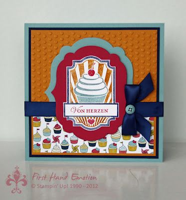 Stampin' UP! Süsse Grüsse, Patio Party by First Hand Emotion