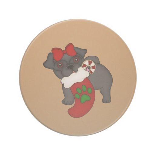 Pug #3 Christmas Coaster http://www.zazzle.com/pug_3_christmas_coaster-174280548763522375?rf=238631258595245556