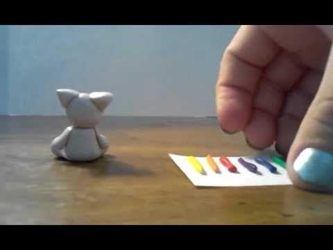 Polymer clay unicorn tutorial