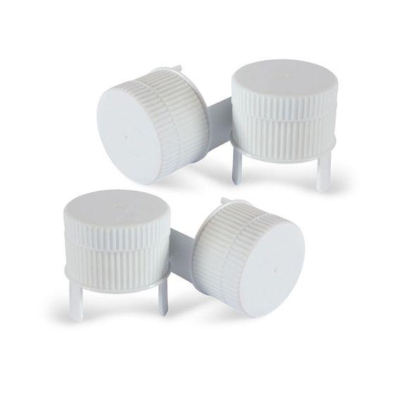Kit Tampa para Pacotes - 4 Peças - Fecha Fácil - 5,7x5,2 cm
