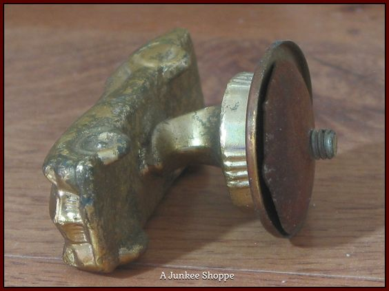 CAR Solid Heavy Brass Plated Metal Trophy Award Topper Ornament Unbranded  Junk 662  http://ajunkeeshoppe.blogspot.com/