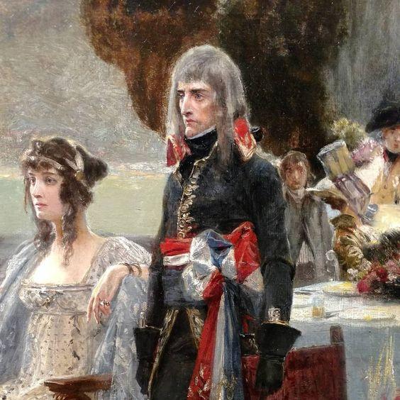 Napoleon and Josephine.1797