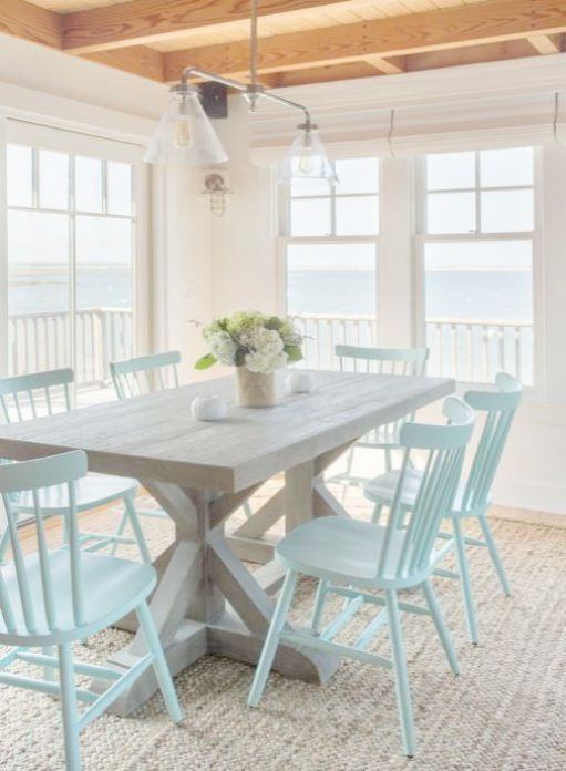 Coastal Cottage Decorating Blogs Beach Cottage Dining Room Sets Cottage Dining Rooms Coastal Dining Room Beach House Interior