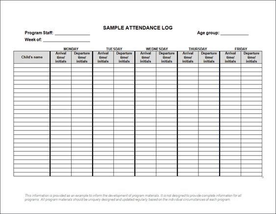 Lots of forms and checklists for child care (from Ontario)