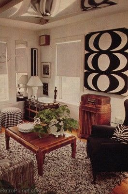 from Better Homes and Gardens circa 1970's living room.