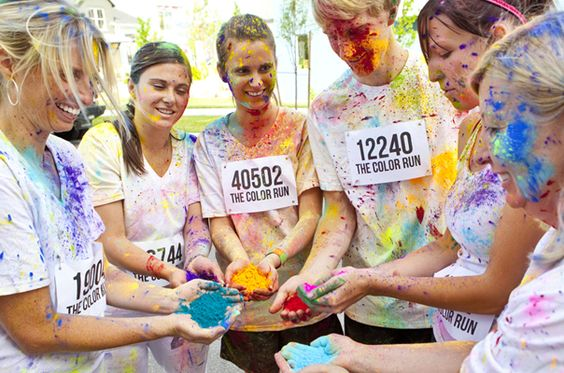 I think I really will do the Color Run in #ATL next year.