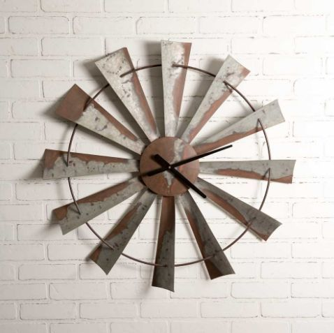 Windmill Wall Clock Windmill Wall Clock Windmill Clock Country Wall Clock