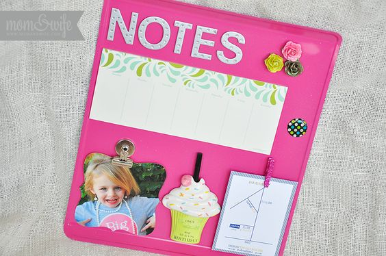 Simple DIY Baking Sheet Magnet Board