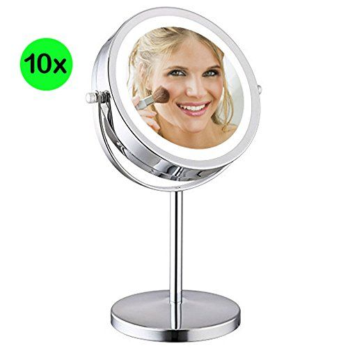 Best Vanity Makeup Mirror With Led, Best Magnifying Travel Makeup Mirror