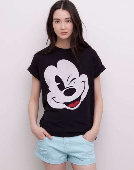 :DISNEY MICKEY MOUSE T-SHIRT