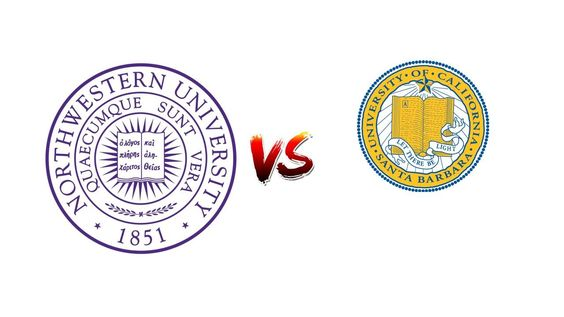 COMPARE NORTHWESTERN UNIVERSITY VS. UNIVERSITY OF CALIFORNIA, SANTA BARBARA