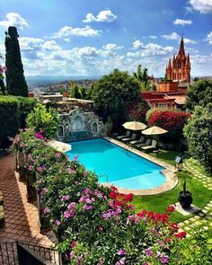 "The Dream Hotel ""Belmond Casa De Sierra Nevada - Mexico   Photography by @carlosmeliablog"""