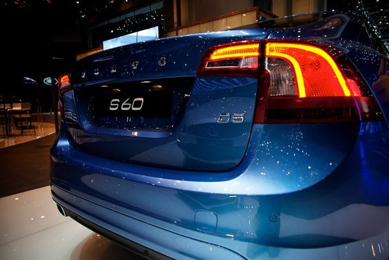 The new 2014 Volvos attracted more than their fair share of attention in the Volvo Showroom at the 2013 Geneva Motorshow