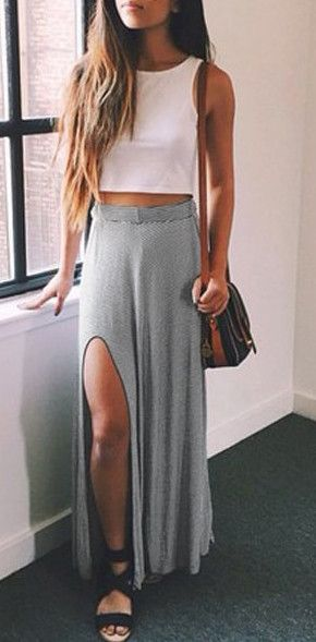 Marled Knit Maxi Skirt | Forever 21 | #thelatest | forever 21| the ...