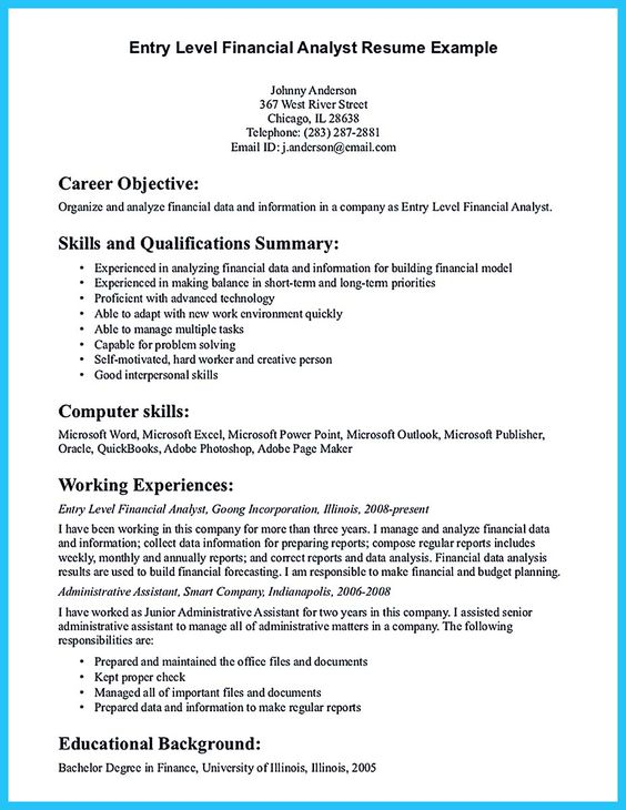 Accounting Resume Format Me Pinterest Functional resume