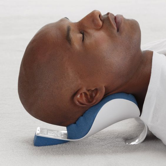 Relieve mom's neck tension with this support  #BrookstoneMoms