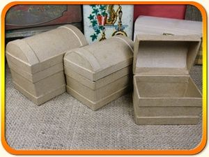 PM Nested Chest Set (3) 11.4cm - Three chests - 11.4cm