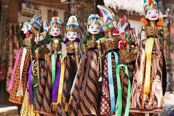 indonesian puppets ubud