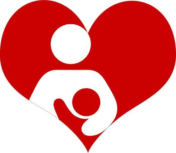 valentine's breastfeeding logo