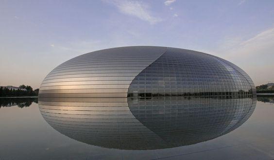 Gran Teatro Nacional de Beijing es una obra del arq. fránces Paul Andreu (1280×747)