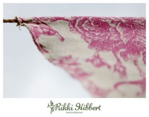 Tutorial - how to make double sided vintage bunting