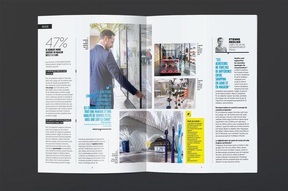 Magazine – Appel d'offre, refonte graphique dumagazine internedu…