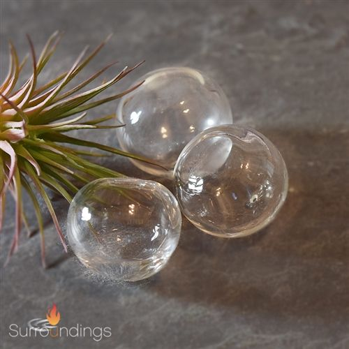 1 Floating Glass Bubbles For Centerpieces Candle Centerpieces
