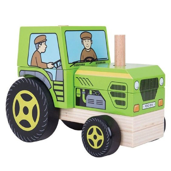 Stacking+Wooden+Tractor