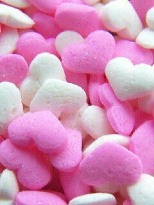 I think is so cute! Little candy hearts <3
