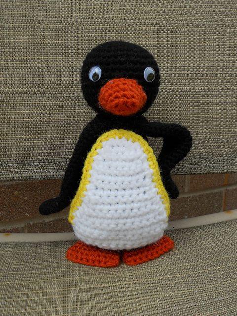 Amigurumi, Penguins and Crochet on Pinterest