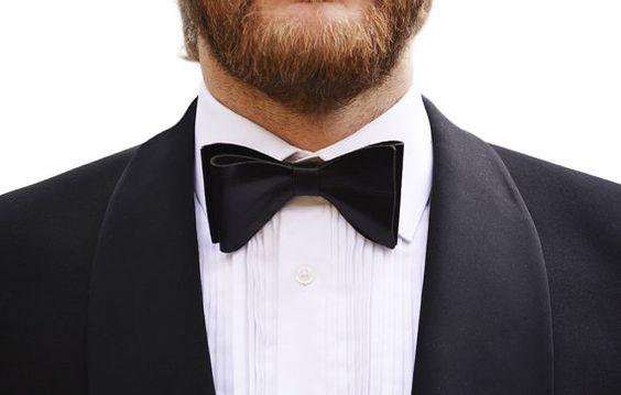 Cravatta di cuoio / / cravatta / / Dicky-Bow / / Mens di deBruir