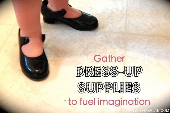Dress up to fuel your kids imagination!